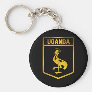 Uganda Emblem Keychain