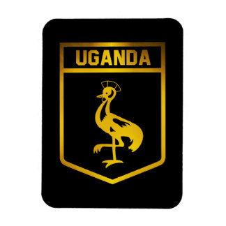 Uganda Emblem Magnet