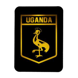 Uganda Emblem Rectangular Photo Magnet