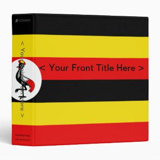 Uganda Flag Binder