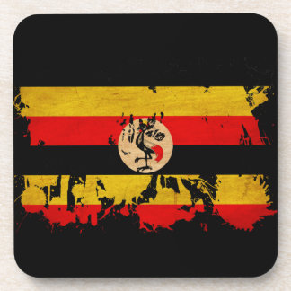 Uganda Flag Coasters