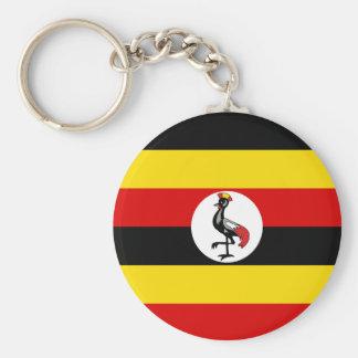 Uganda Flag Keychain