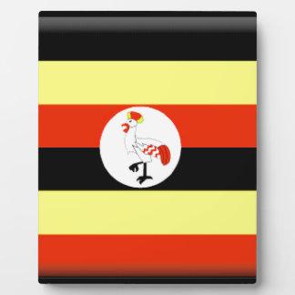 Uganda Flag Plaque