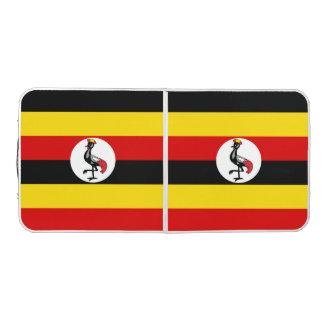 Uganda Flag Pong Table