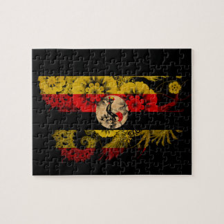 Uganda Flag Puzzle