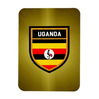 Uganda Flag Rectangular Photo Magnet