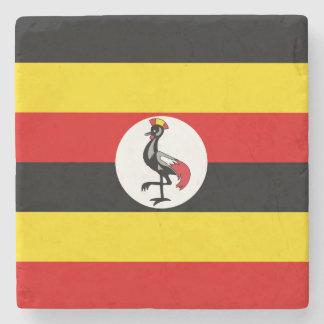 Uganda Flag Stone Coaster