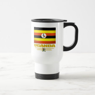 Uganda Flag Travel Mug