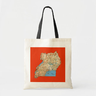 Uganda Map Bag