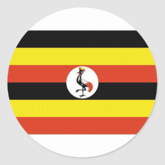 Uganda National Flag Sticker