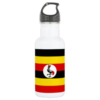 Uganda National World Flag 532 Ml Water Bottle