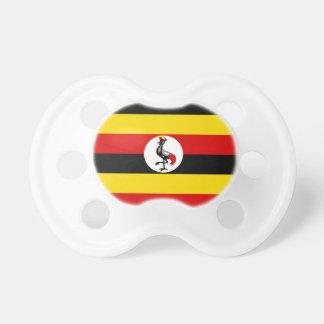 Uganda National World Flag Pacifier