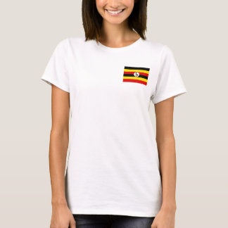 Uganda National World Flag T-Shirt