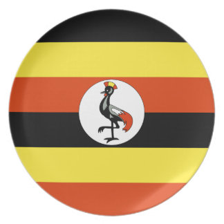 Uganda Party Plate