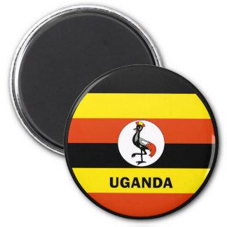Uganda Roundel quality Flag Magnet