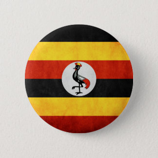 Uganda Tshirts and Accesories 2 Inch Round Button