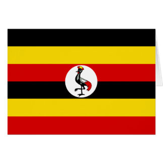 Uganda – Ugandan Flag Card
