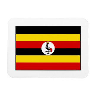 Uganda – Ugandan Flag Rectangular Photo Magnet