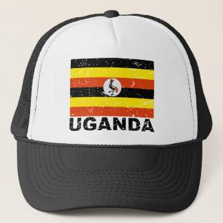 Uganda Vintage Flag Trucker Hat