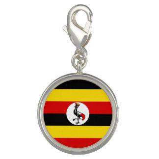 Ugandan flag charm