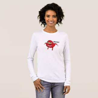 Ugandan Knuckles Ebola Warrior Long Sleeve T-Shirt