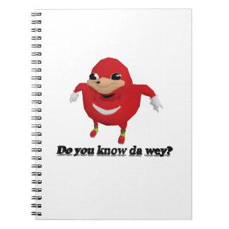 Ugandan Knuckles Warrior Notebook
