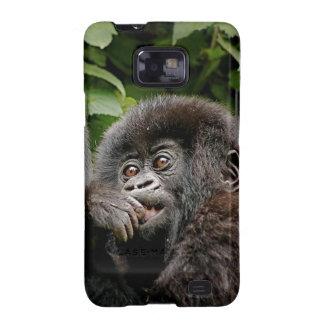 Ugandan Mother Baby Gorilla Samsung Galaxy S2 Cover