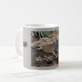 Ugh It's Monday sleeping kangaroo Coffee Mug