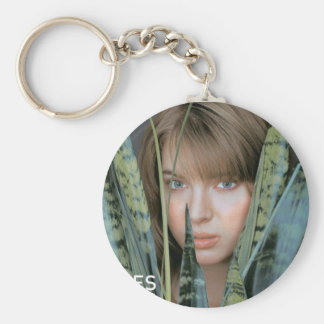 uglies cover basic round button keychain