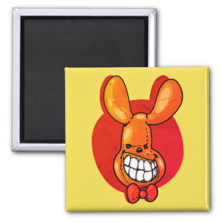 ugly balloon smiling funny cartoon magnet