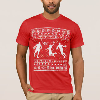 Ugly basketball Christmas Sweater