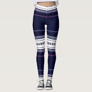 Ugly Blue Sweater Leggings