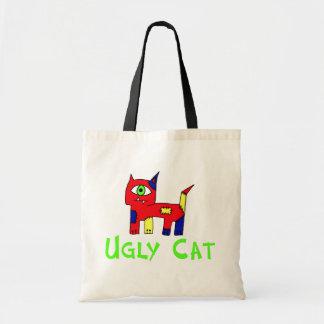 Ugly  Cat Tote Bag