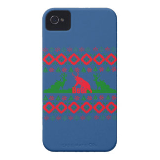 Ugly Christmas beer iPhone 4 Covers