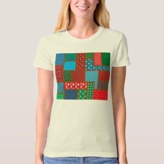 Ugly christmas square pattern T-Shirt