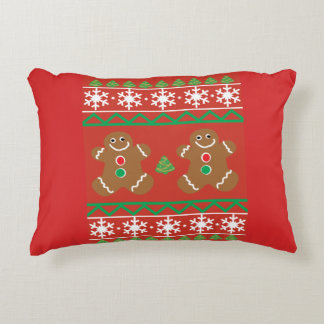 Ugly Christmas Sweater Decorative Pillow