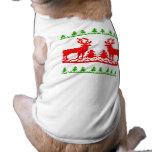 Ugly Christmas Sweater Dog Tee Shirt