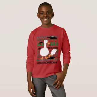 Ugly Christmas Sweater Duck vs. Aliens