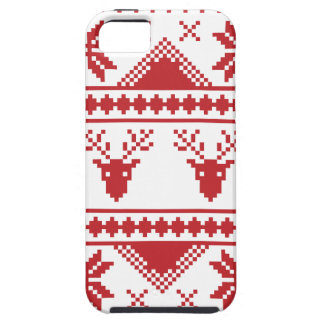 ugly christmas sweater iPhone 5 case