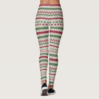 Ugly Christmas Sweater Leggings