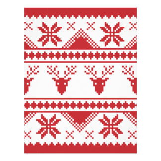ugly christmas sweater letterhead