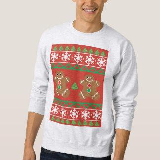 Ugly Christmas Sweater Men's Basic Sweatshirt