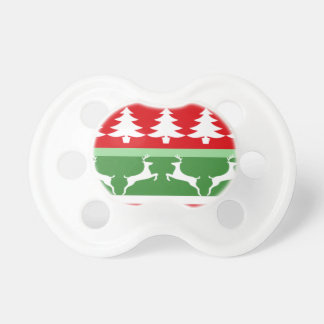 Ugly Christmas Sweater Pacifier