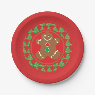 Ugly Christmas Sweater Party Plate