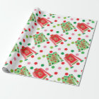 Ugly Christmas Sweater Polka Dot Wrapping Paper