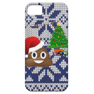 ugly Christmas sweater poop emoji iPhone 5 Case