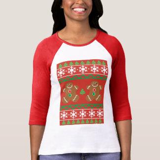 Ugly Christmas Sweater Women's Raglan T-Shirt