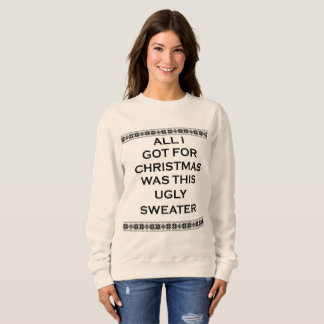 ugly christmas sweater womens sweatshirt
