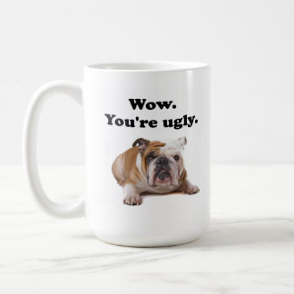 Ugly coffee mug
