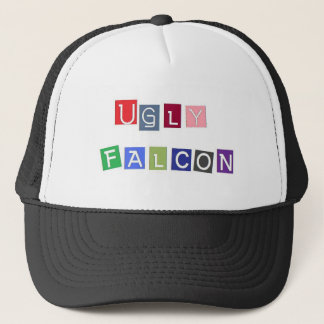 Ugly Falcon colored Trucker Hat